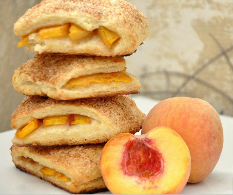 Peach Cobbler Scones Recipe