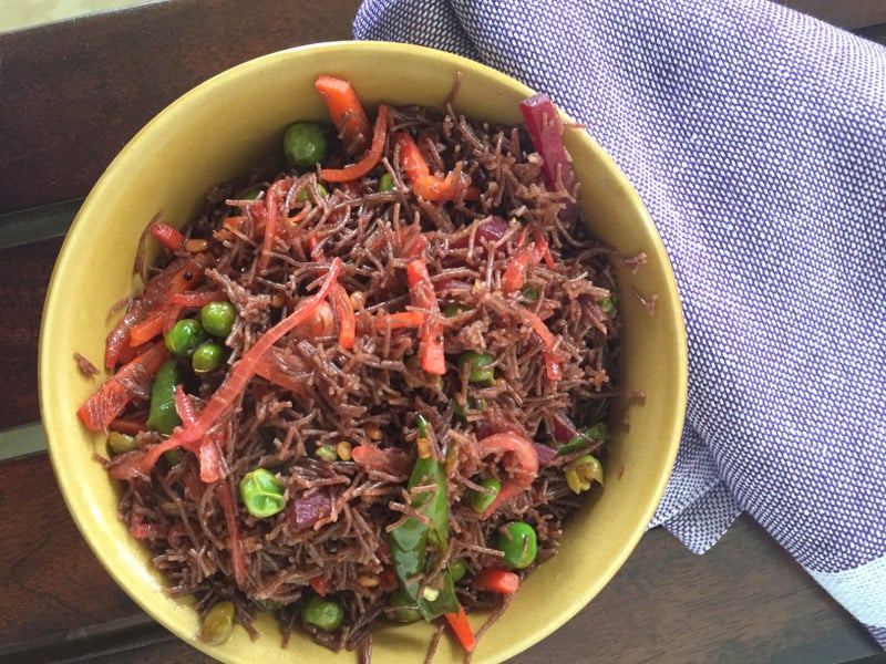 Ragi Semiya Upma Recipe Millet Recipe By Archanas Kitchen