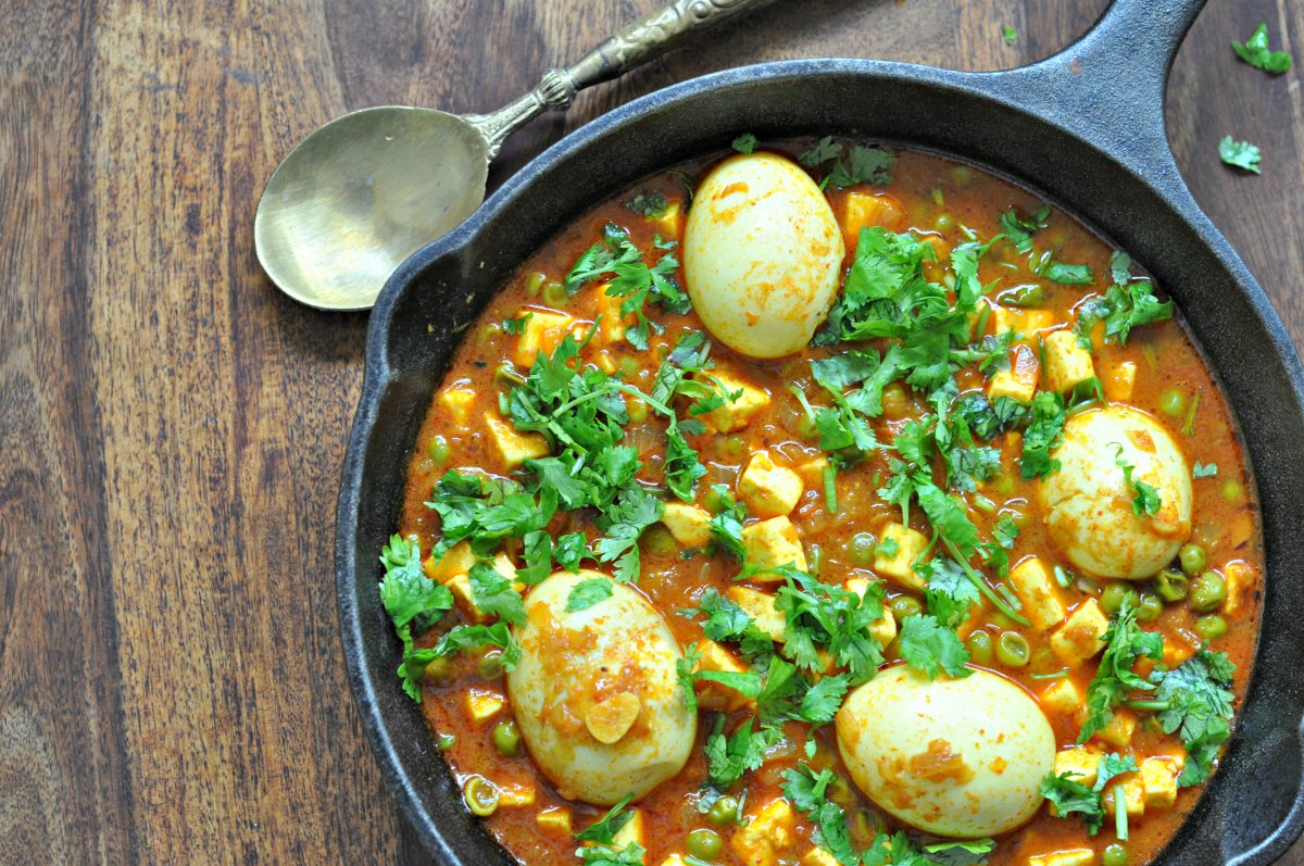 Spicy Haryana Style Egg Curry Recipe