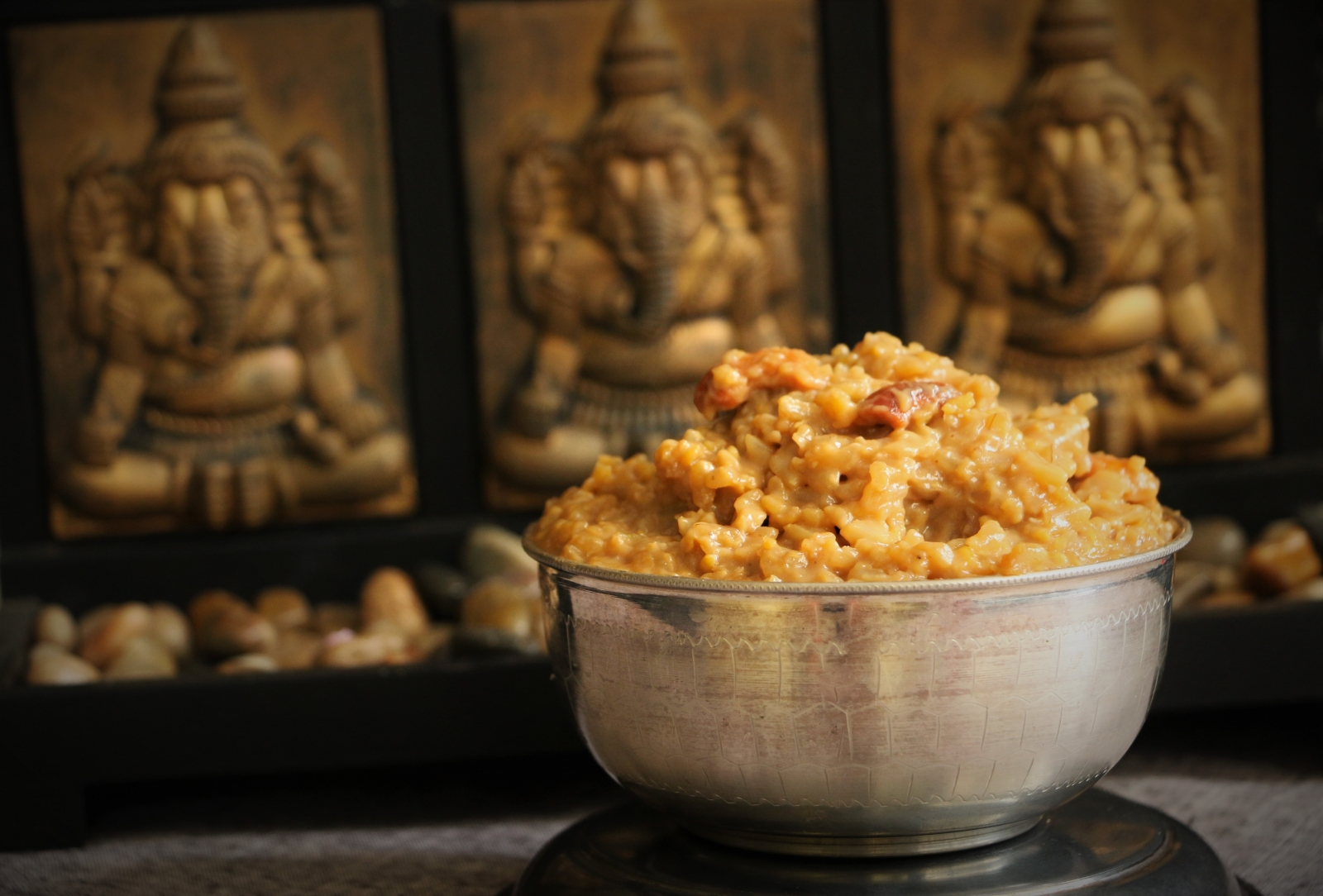 Sweet Pongal With Thai Jasmine Rice And Palm Sugar Recipe