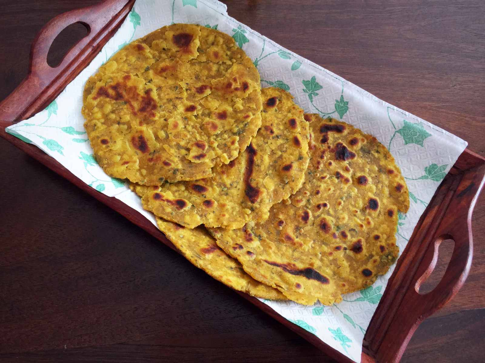 Masala Roti Recipe-Soft and Spicy Indian Flat Bread