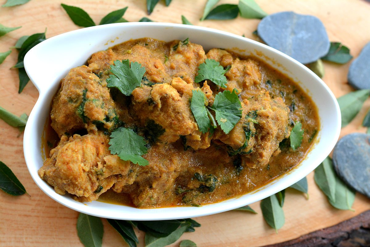 Classic Andhra Style Chicken Curry Recipe