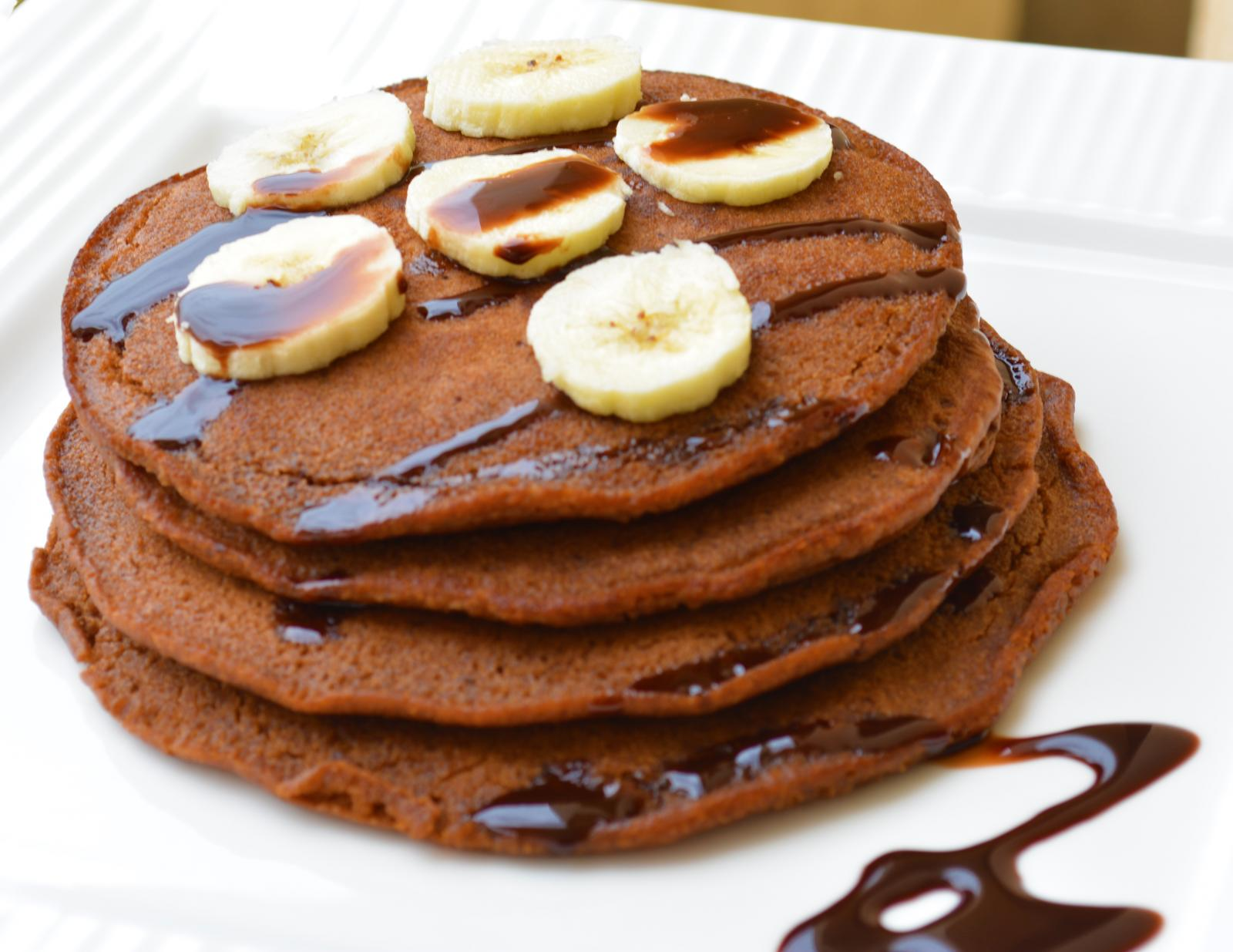 Chocolate Pancakes With Banana Recipe By Archana S Kitchen