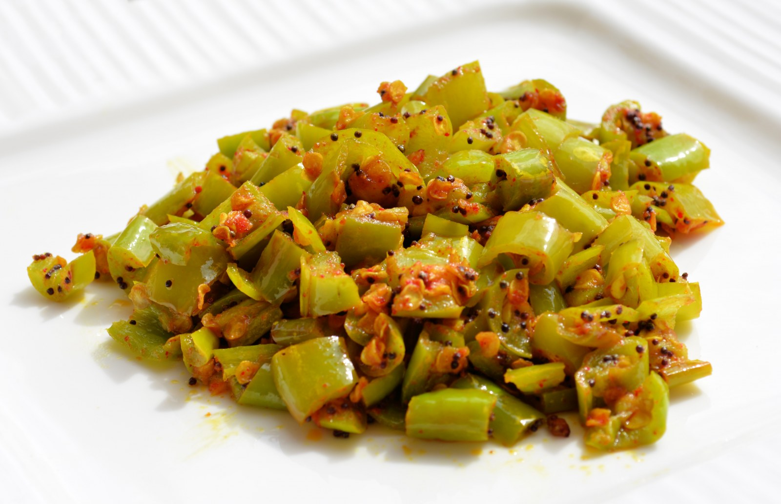 by archanas kitchen green chilli vegetable recipe in hindi forumfinder Images