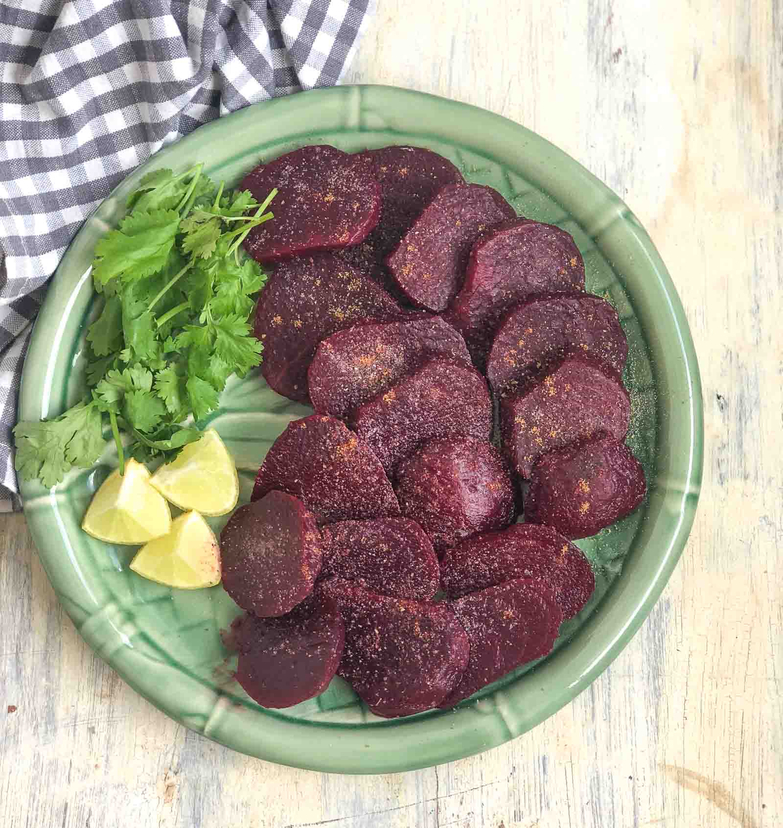 Simple Steamed Indian Beet Salad Recipe