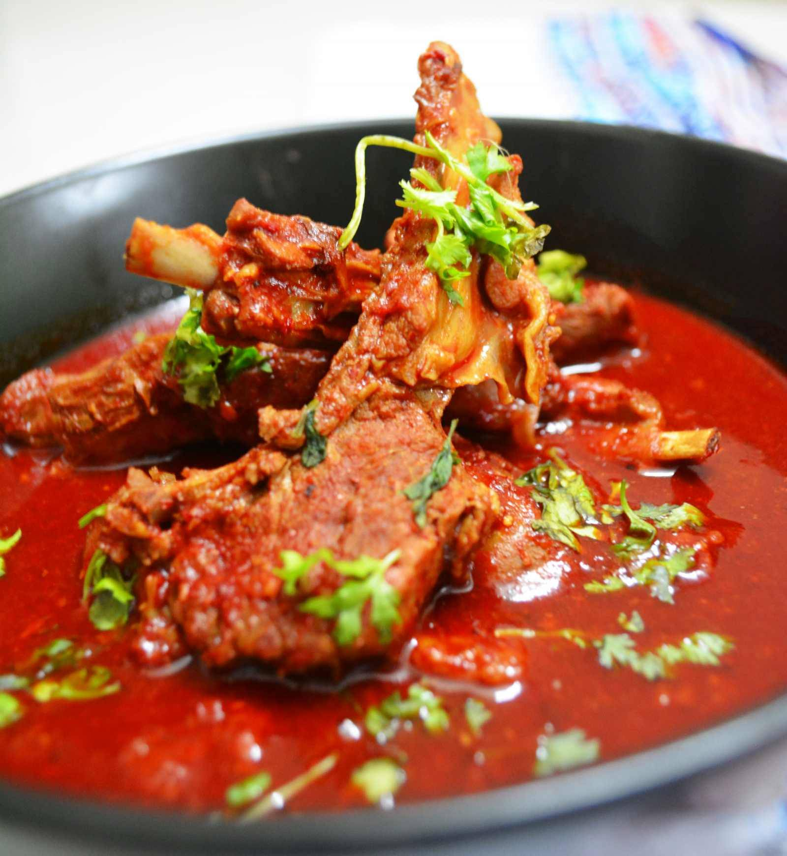 Rajasthani laal maas recipe mutton in red spicy gravy by archanas rajasthani laal maas recipe mutton in red spicy gravy forumfinder Choice Image