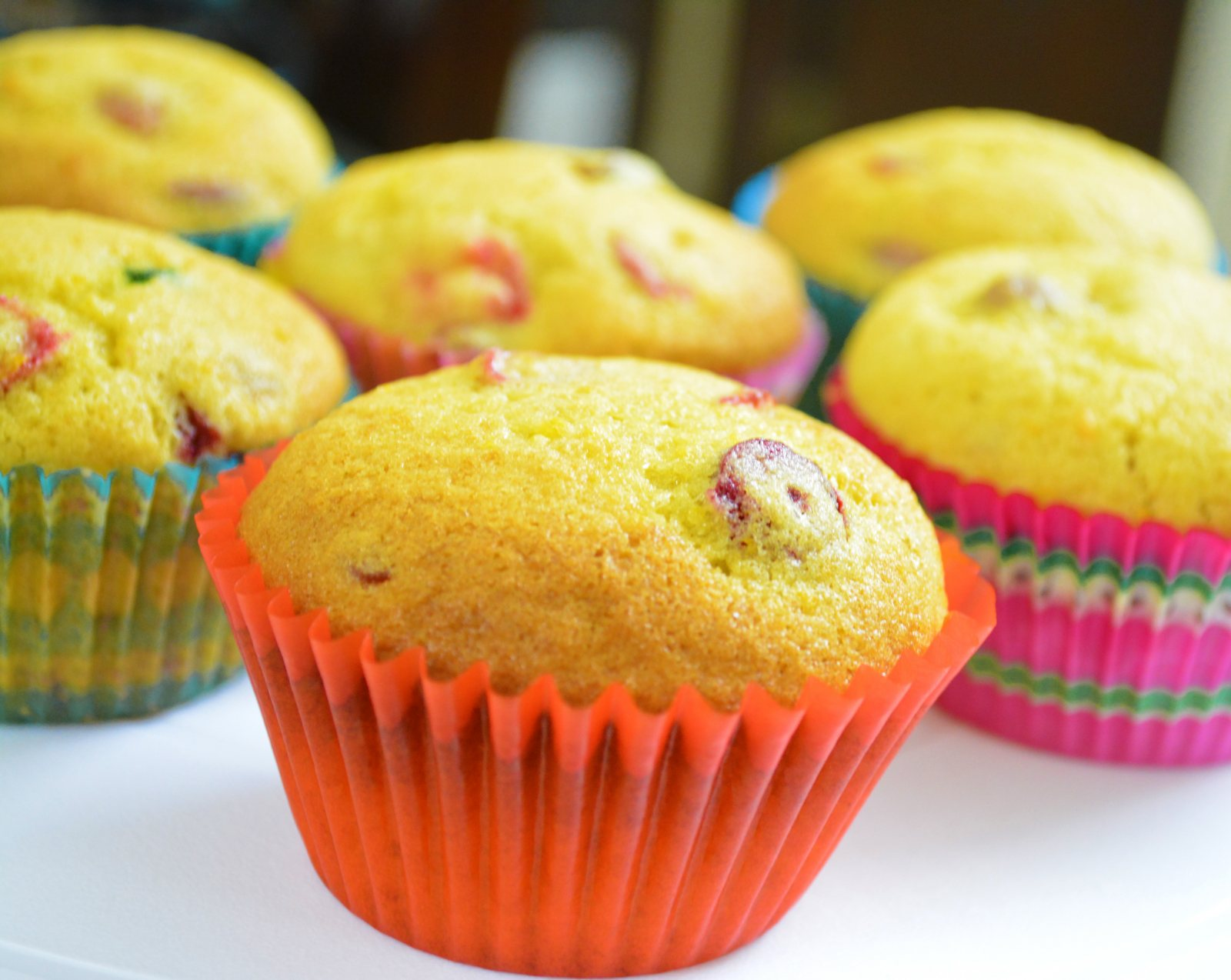 Orange Cranberry Cupcakes Recipe