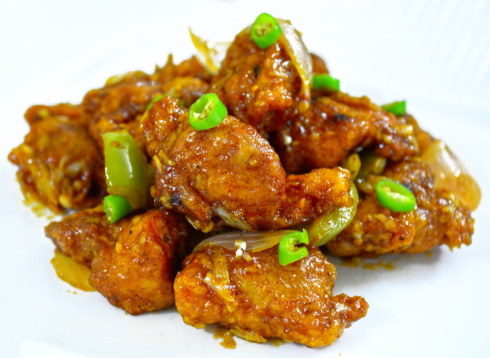 Indo Chinese Crispy Chicken Chilli Recipe