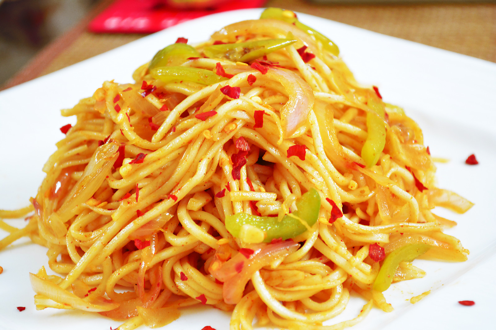 Spicy Chilli Garlic Noodles Recipe
