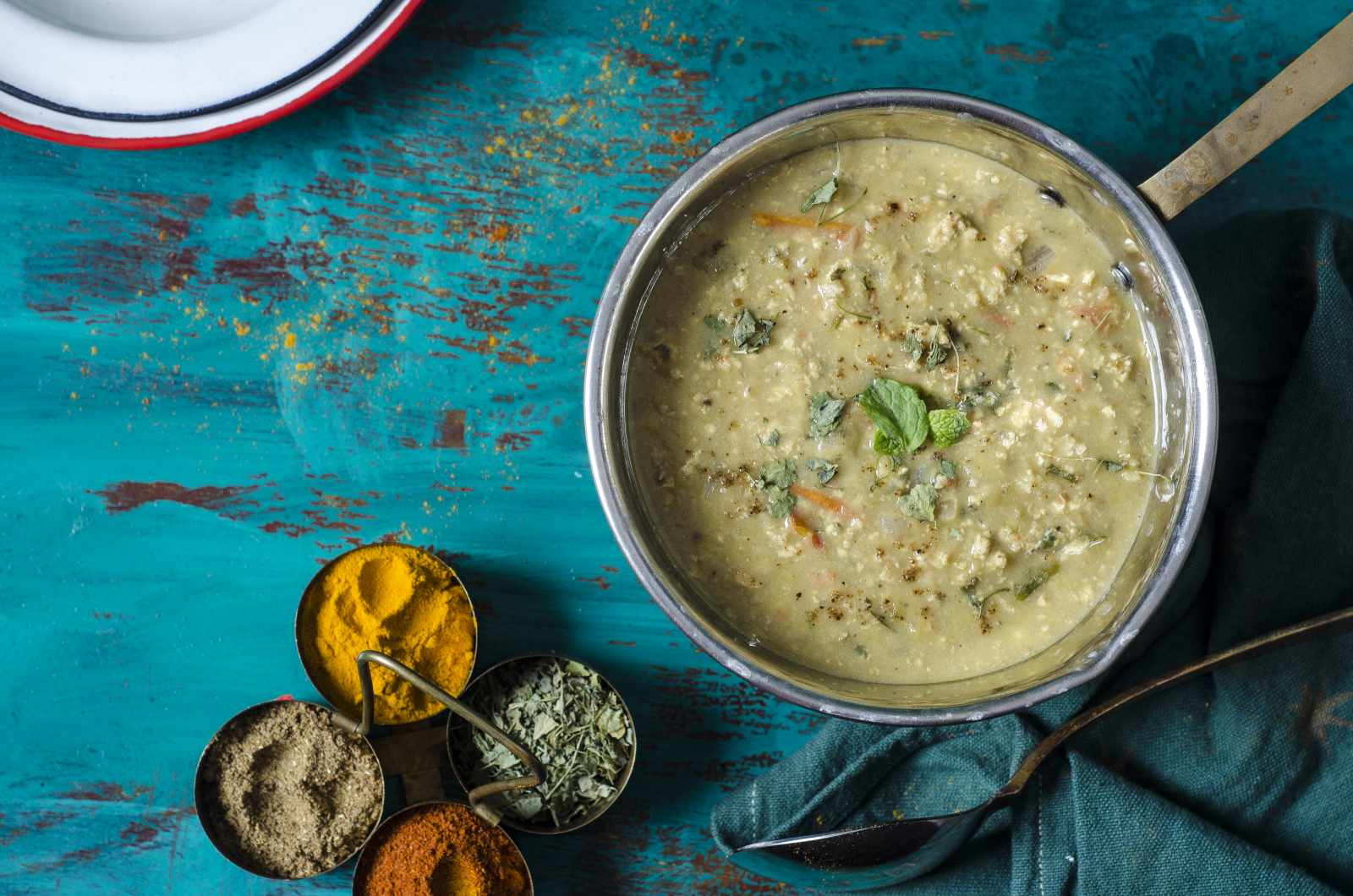 Masoor Dal With Scrambled Eggs Recipe - Lentil Curry With Eggs