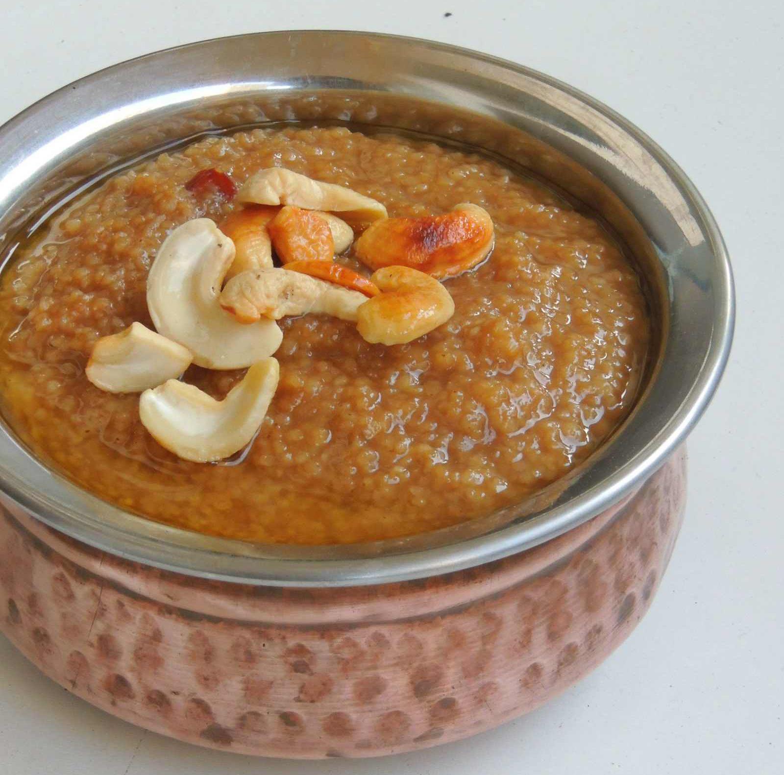 Barnyard Millet Sweet Pongal Recipe Kuthiraivali Sakkarai Pongal By Archana S Kitchen