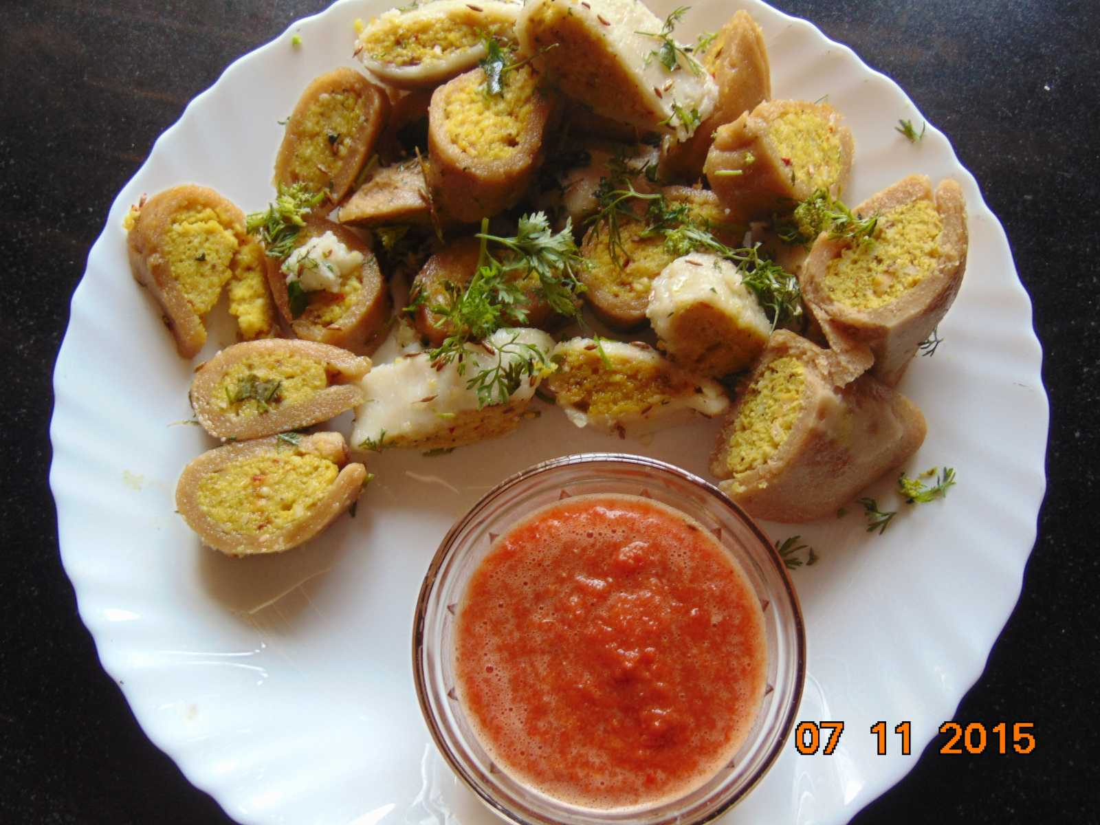 Dal fara recipe indian stuffed lentil dumplings by archanas kitchen dal fara recipe indian stuffed lentil dumplings forumfinder Images