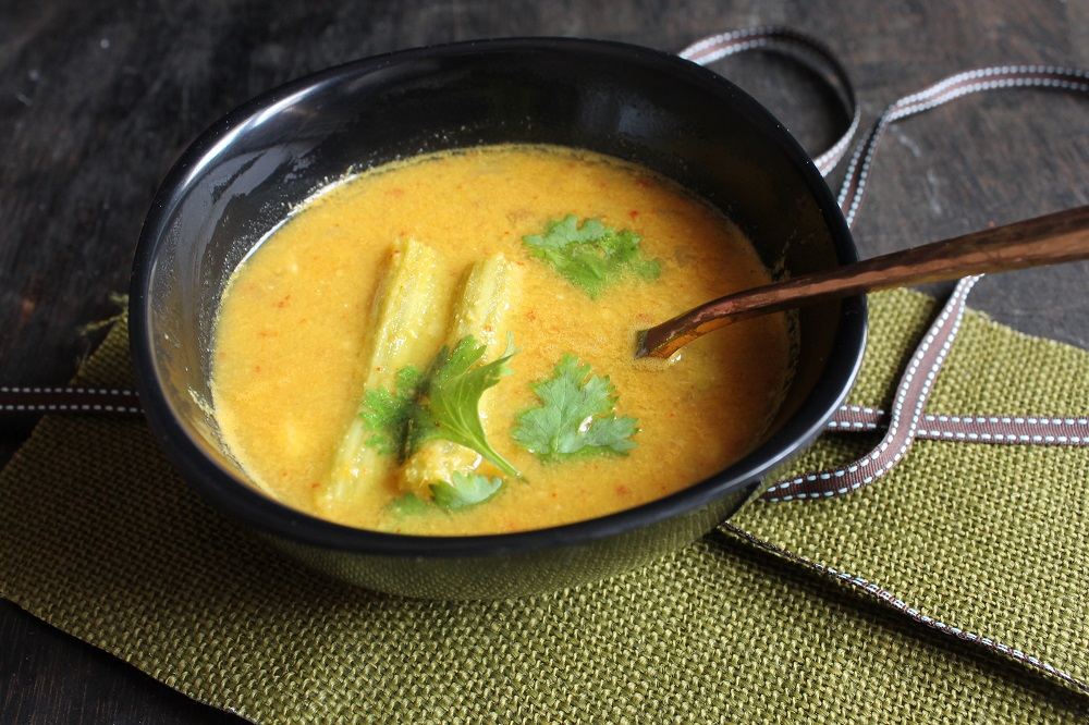 Goan Style Sangacho Ross Recipe-Drumstick Curry