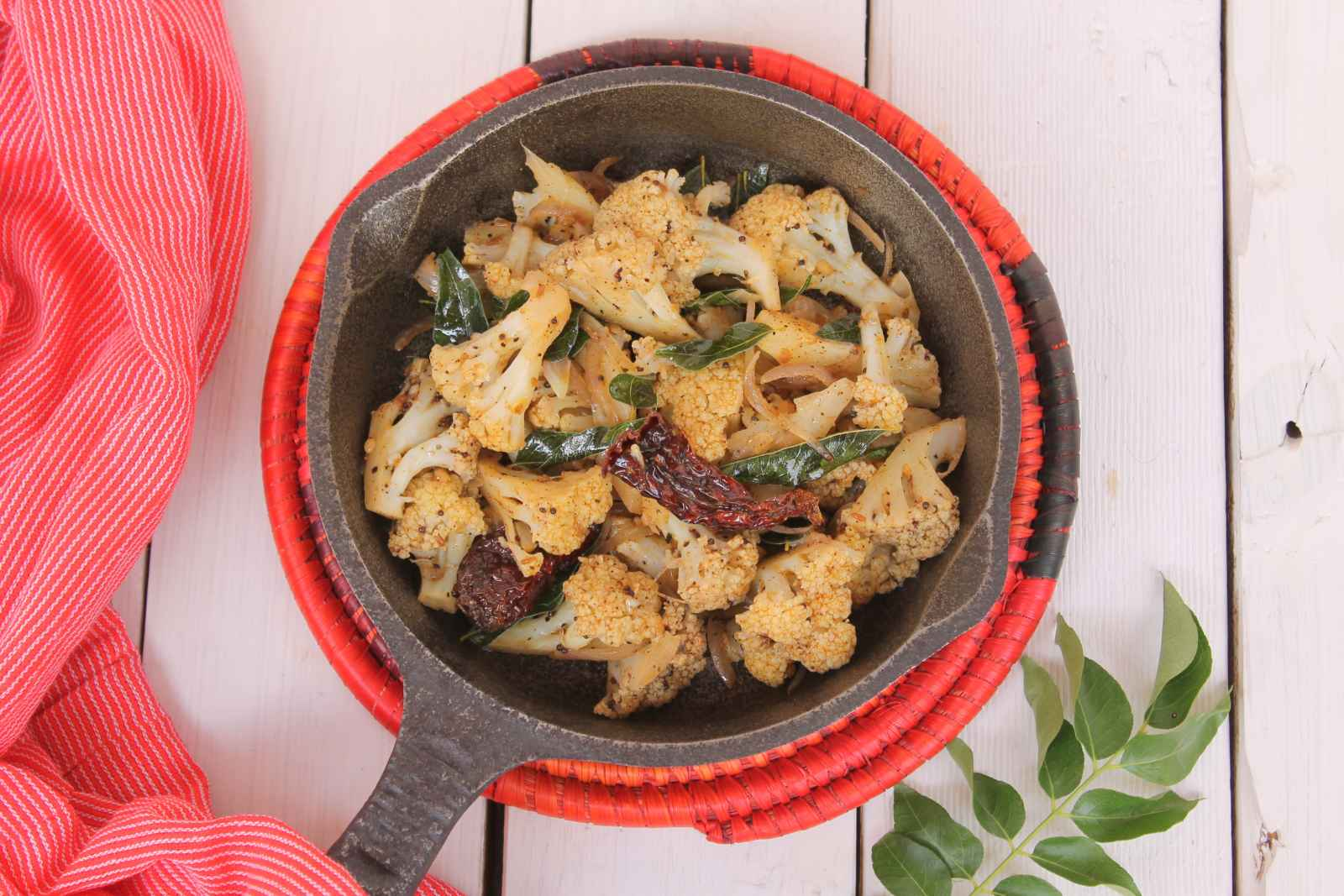 Pepper Cauliflower Recipe