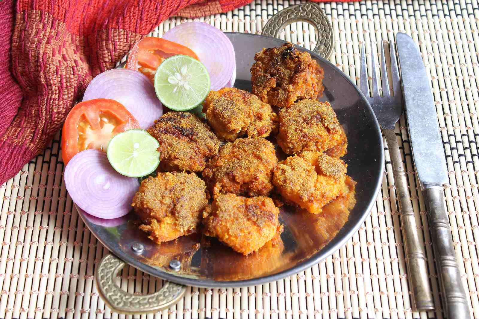 Rava Fried Prawns