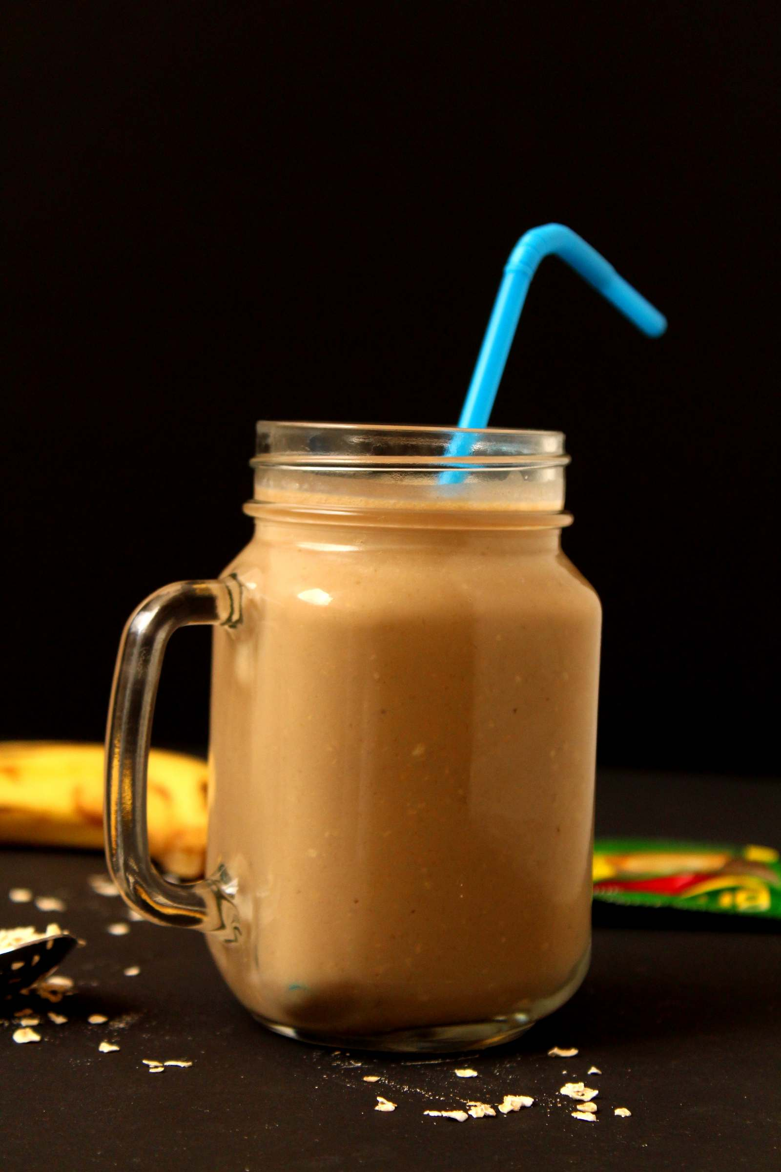 Coffee Banana Oats Smoothie Recipe