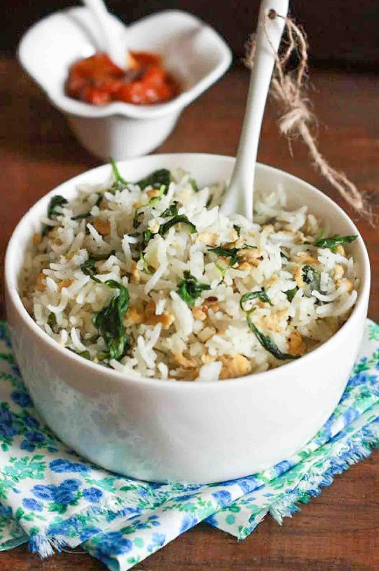 Fenugreek & Egg Fried Rice Recipe (Anda Methi Chawal) By
