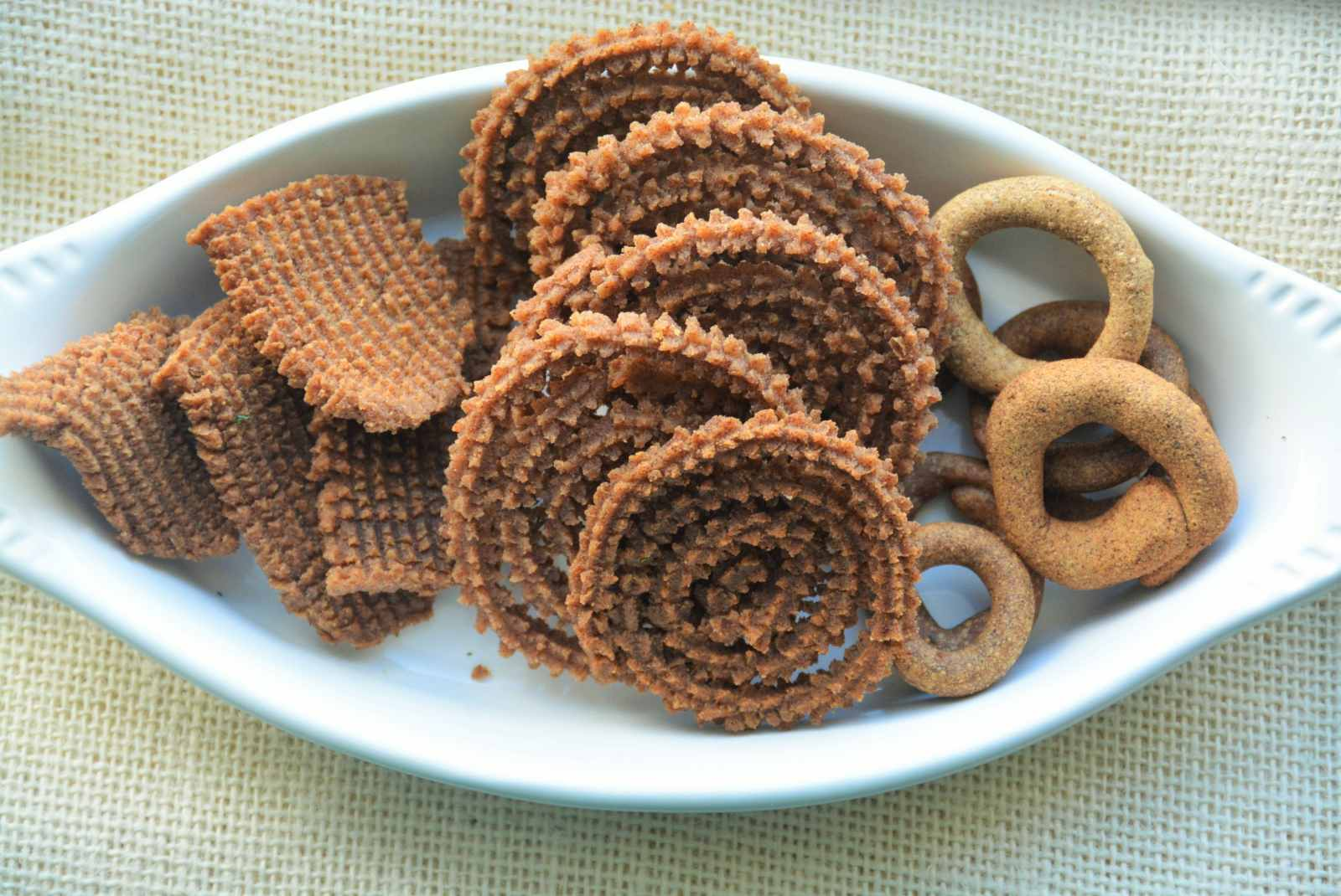 Ragi Murukku And Kodubale Recipe -Chakli And Kodubale