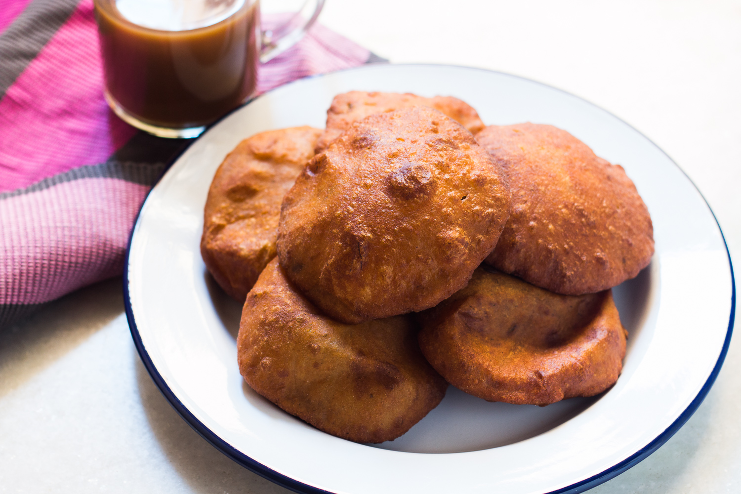 Mangalore Buns Recipe - Puffed Banana Puris
