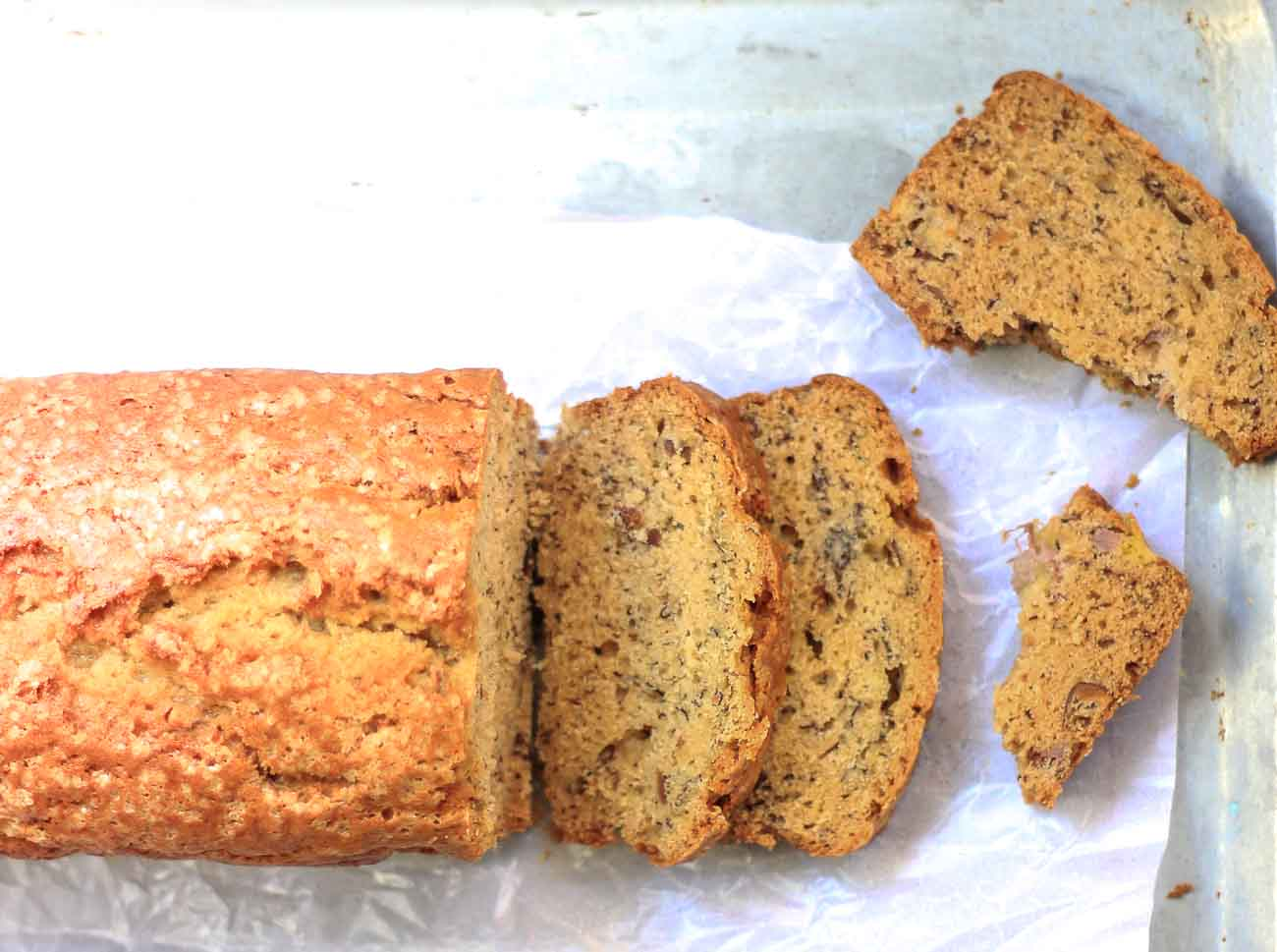 Healthy whole wheat brown butter banana bread recipe by archanas healthy whole wheat brown butter banana bread recipe forumfinder Images