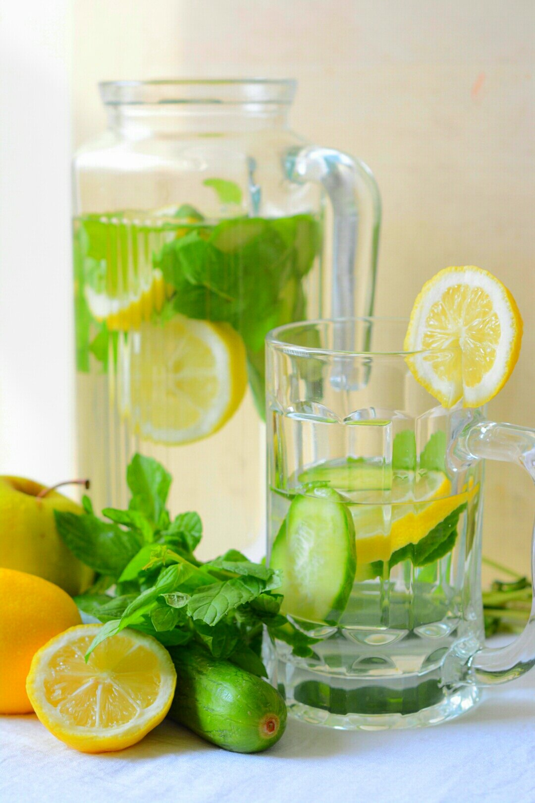 Stimulating ginger, with calm and soothing cucumber and sprightly lemon, makes this a delicious, energizing and uplifting detox water recipe. And it may also .