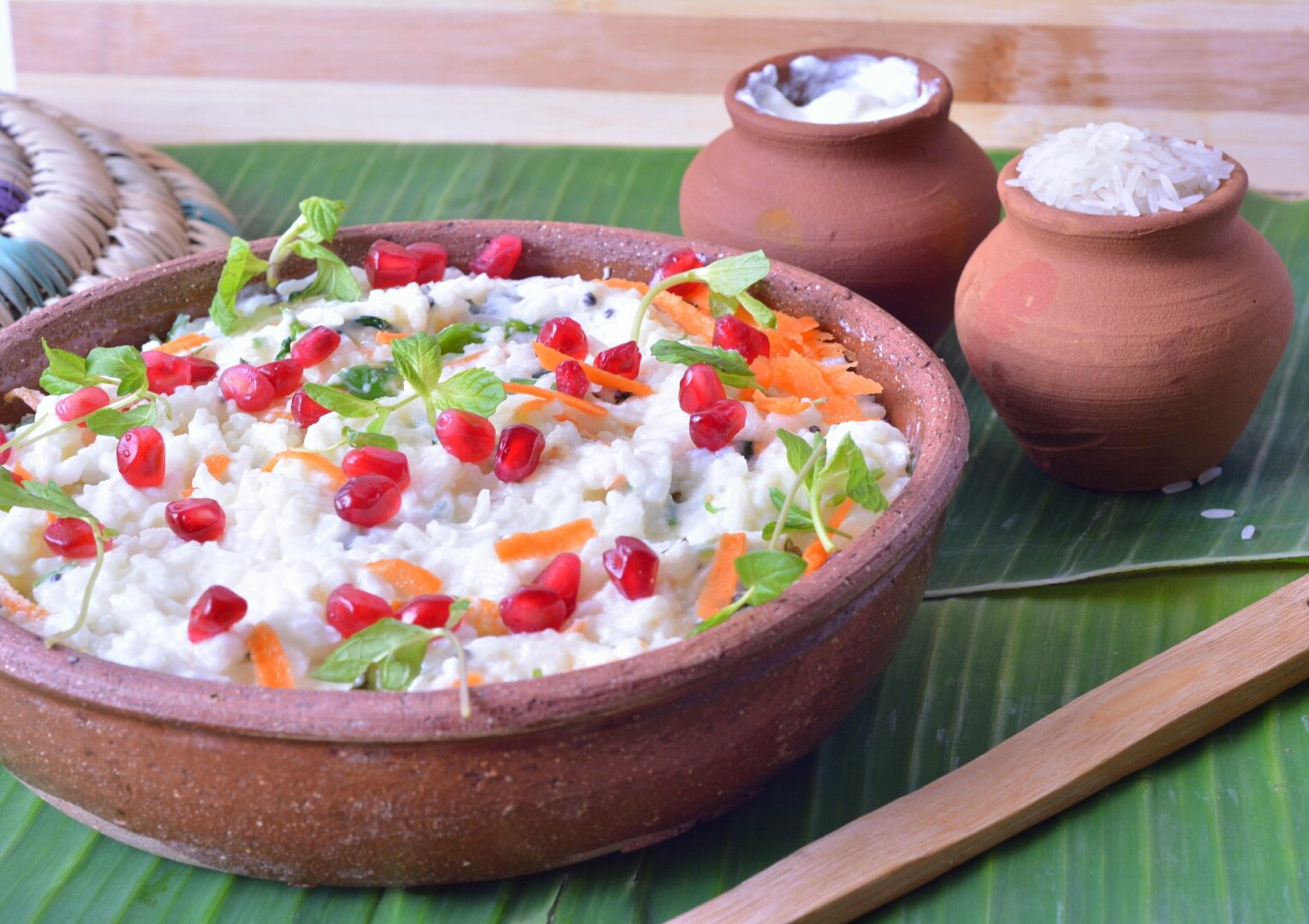 Curd Rice Recipe With Mint Flavour