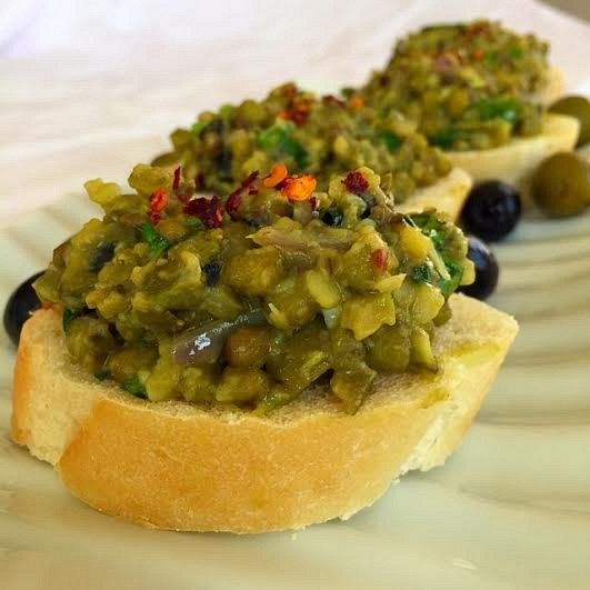 Indian Style Tapenade Recipe