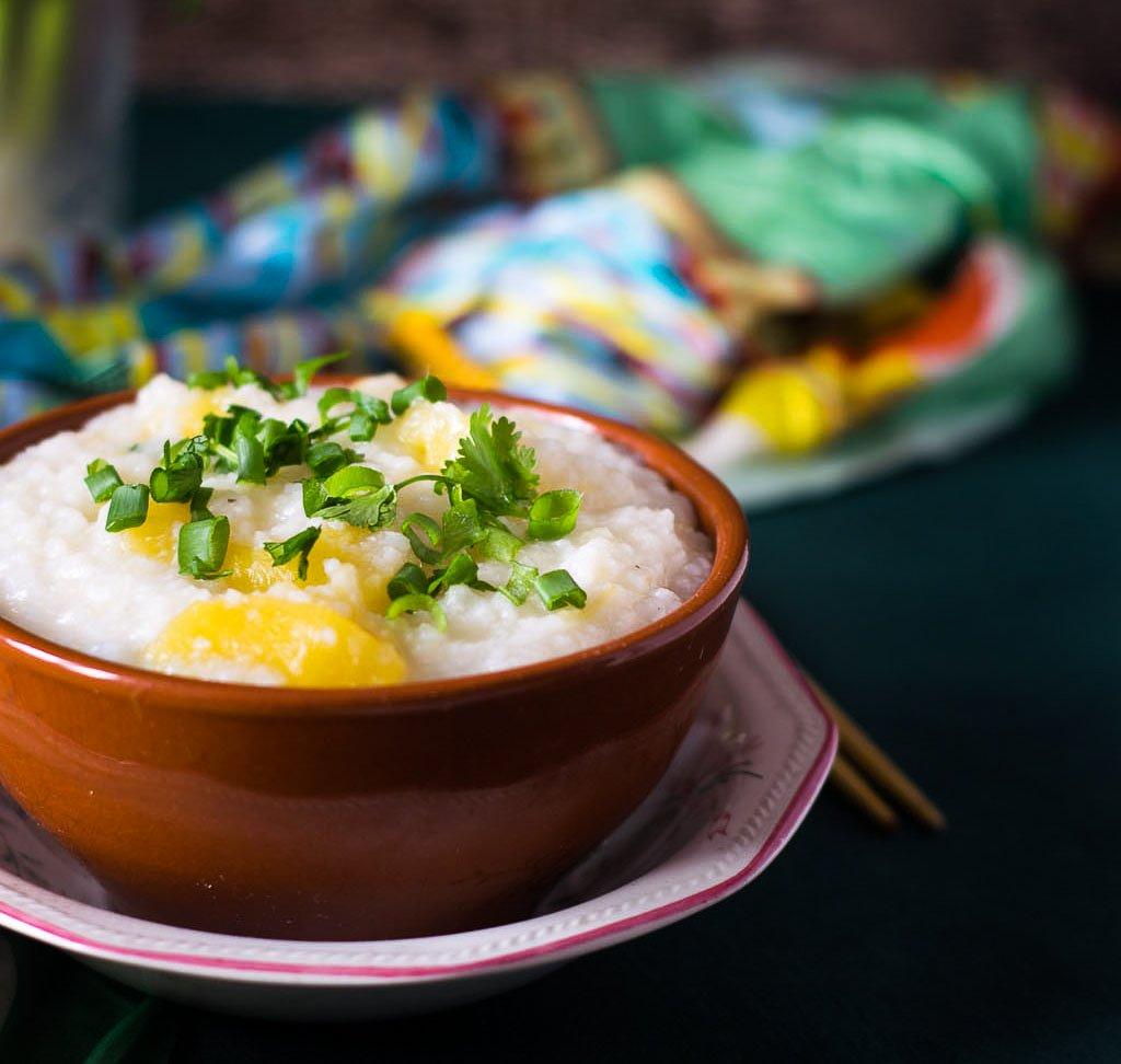Corn porridge with pumpkin: recipe 27