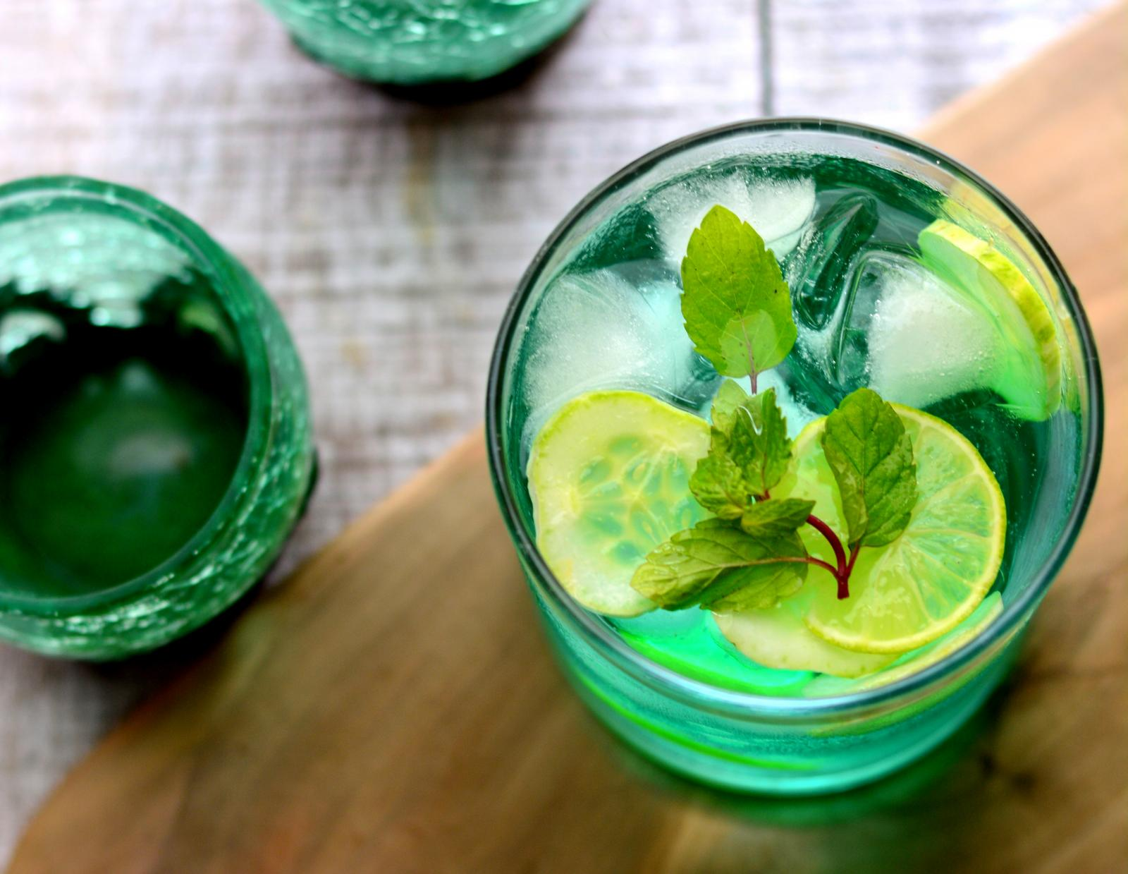 Khus And Cucumber Mojito Recipe