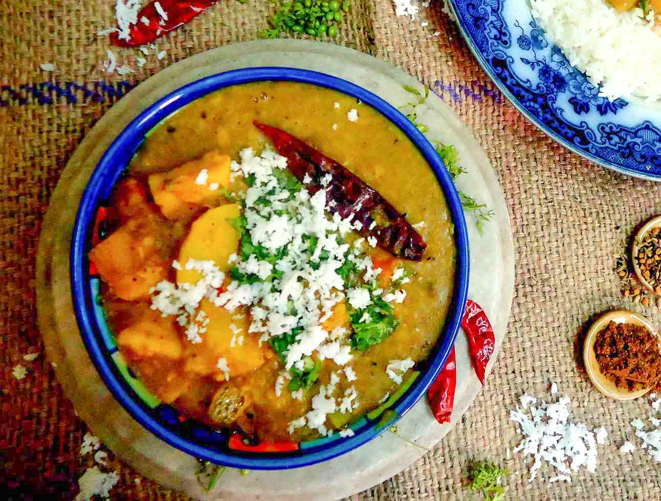 Oriya special dalma recipe oriya dal tarkari by archanas kitchen oriya special dalma recipe oriya dal tarkari forumfinder Choice Image