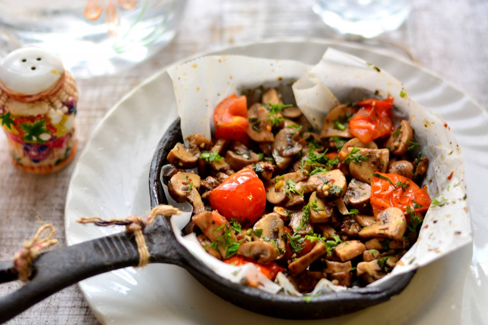 Roasted Mushroom Recipe