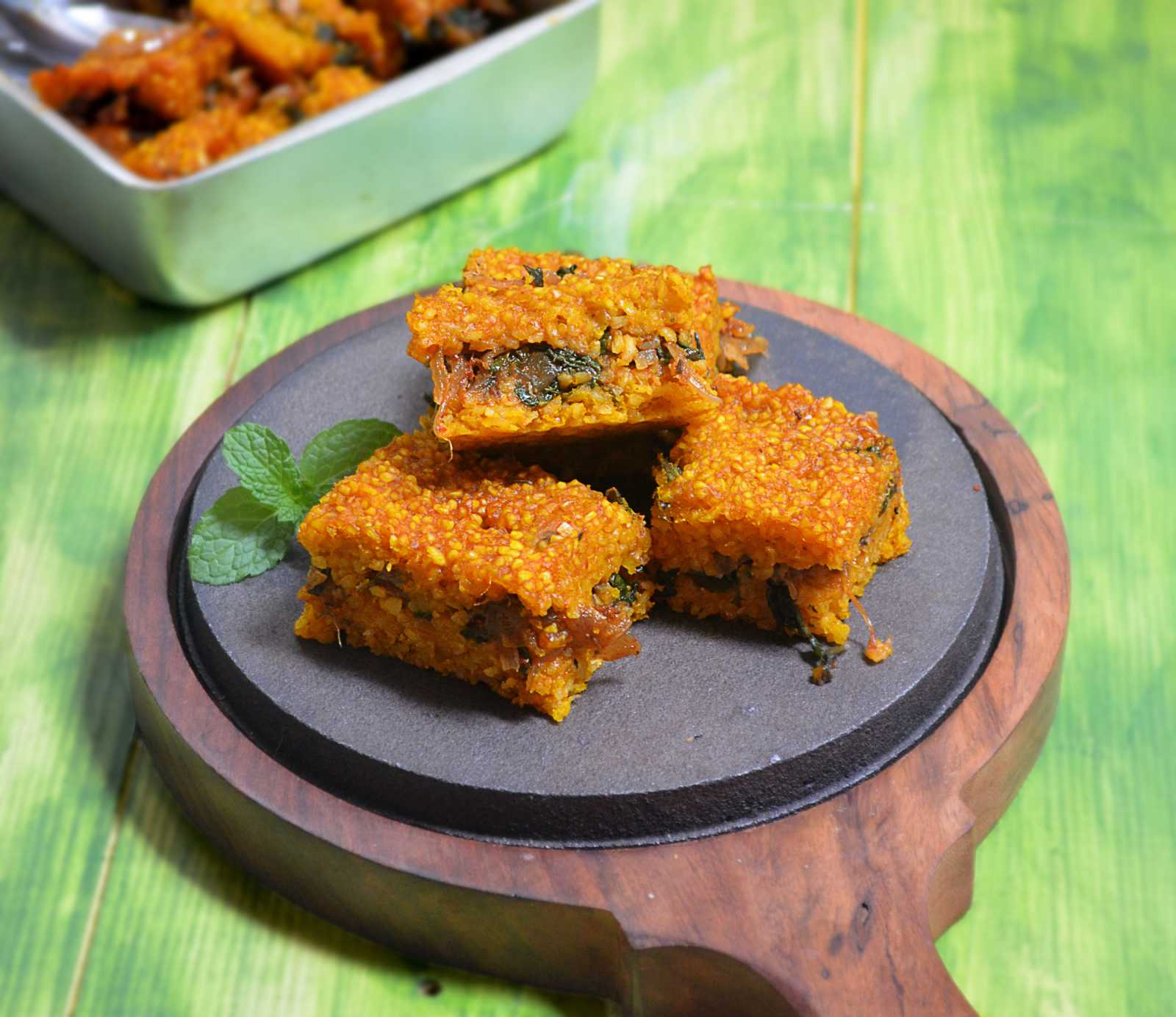 Baked Lebanese Pumpkin Kibbi Recipe