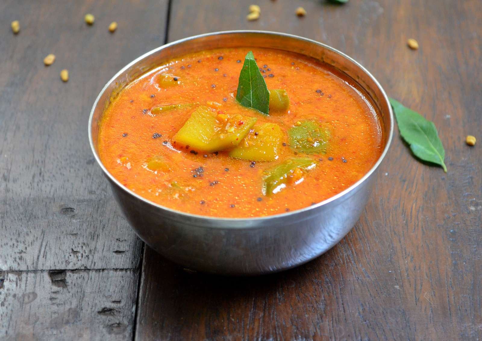 Karwar Style Kairichi Udid Methi Recipe (Raw Mango Methi Curry)