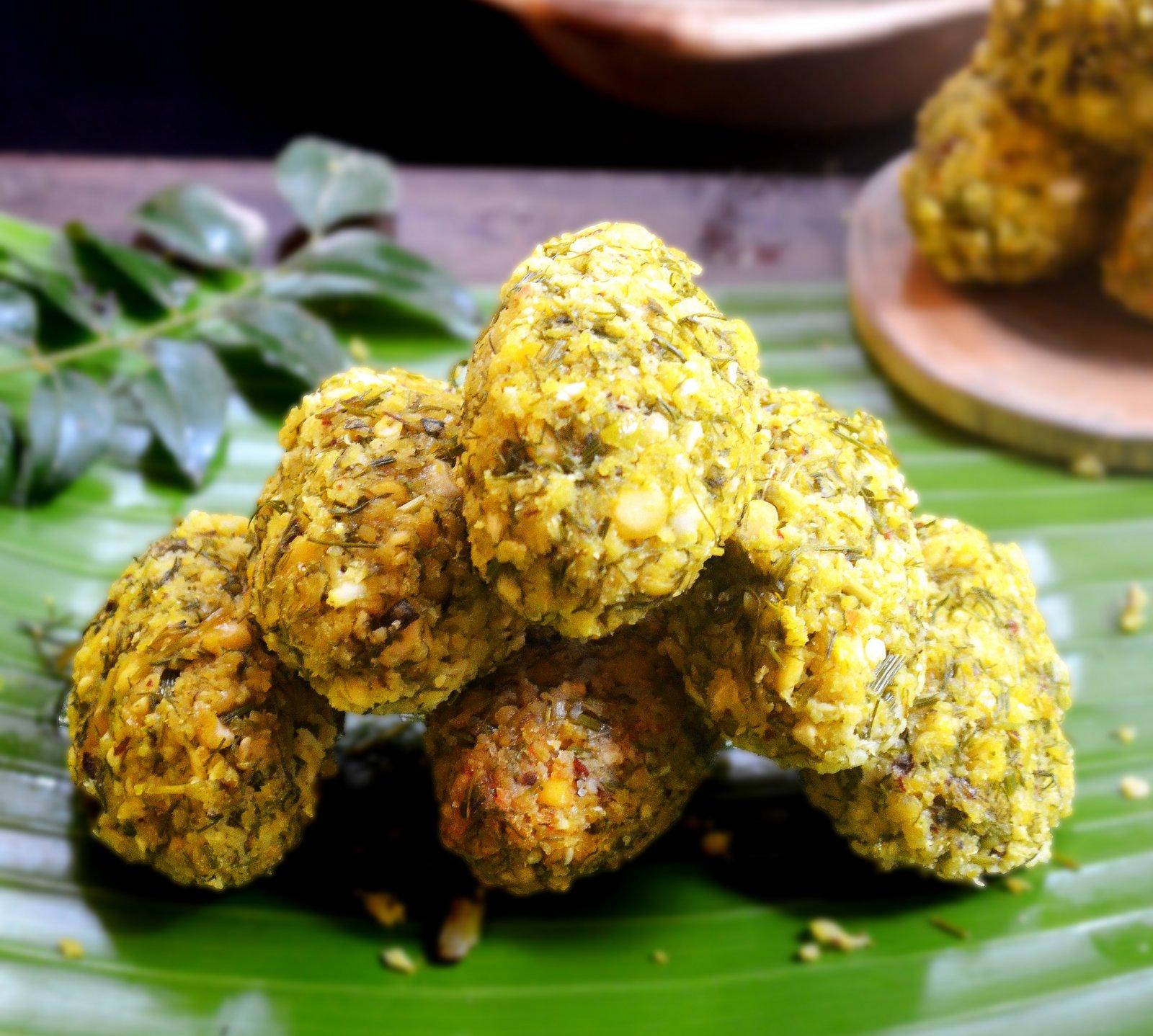 Nuchinunde nucchina unde recipe by archanas kitchen nuchinunde nucchina unde recipe karnataka style dal steamed pakora forumfinder Gallery