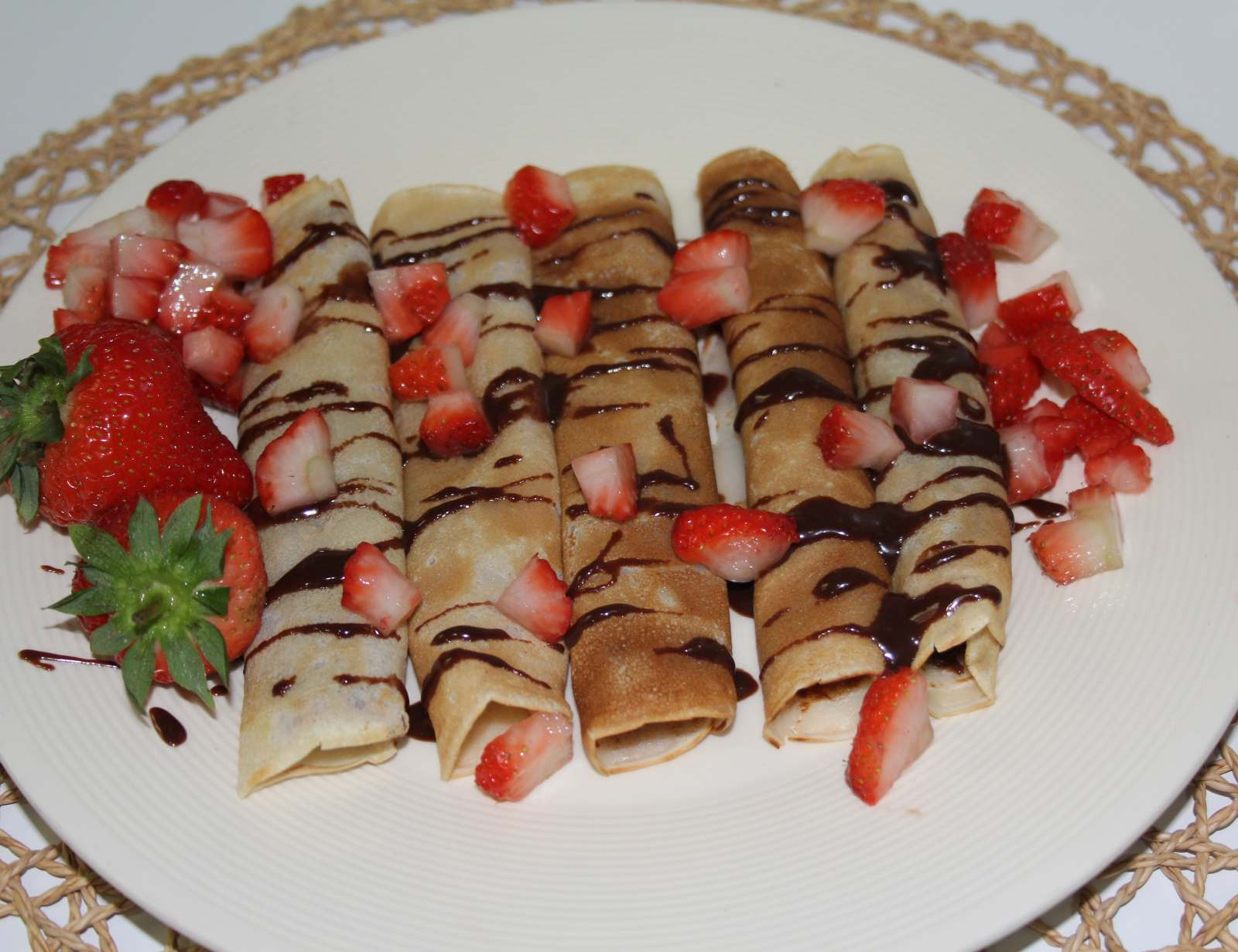 Eggless Nutella Crepes With Strawberries Recipe By Archana S Kitchen