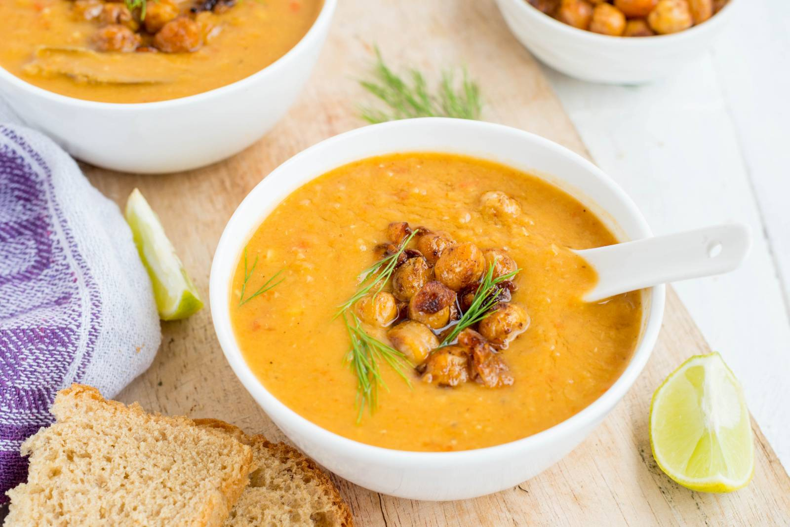Lentil & Coconut Milk Soup Recipe