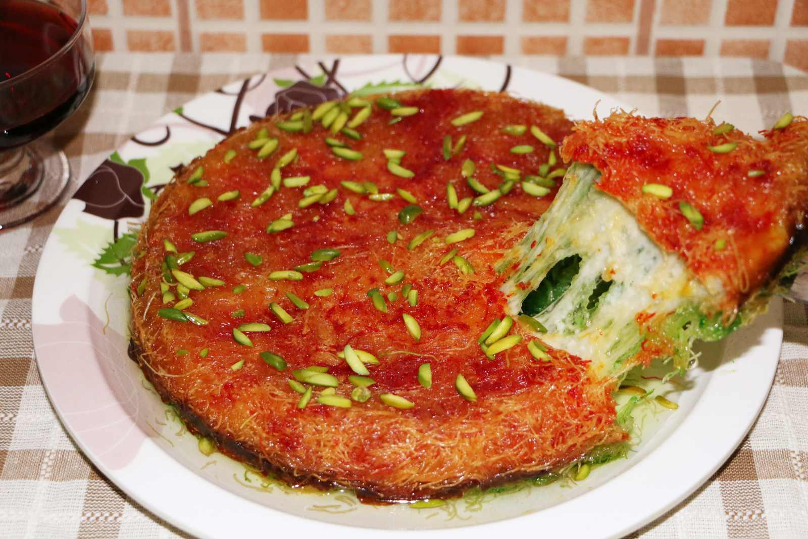 Delicious arabic sweet kunafa recipe knafeh by archanas kitchen delicious arabic sweet kunafa recipe knafeh forumfinder Images