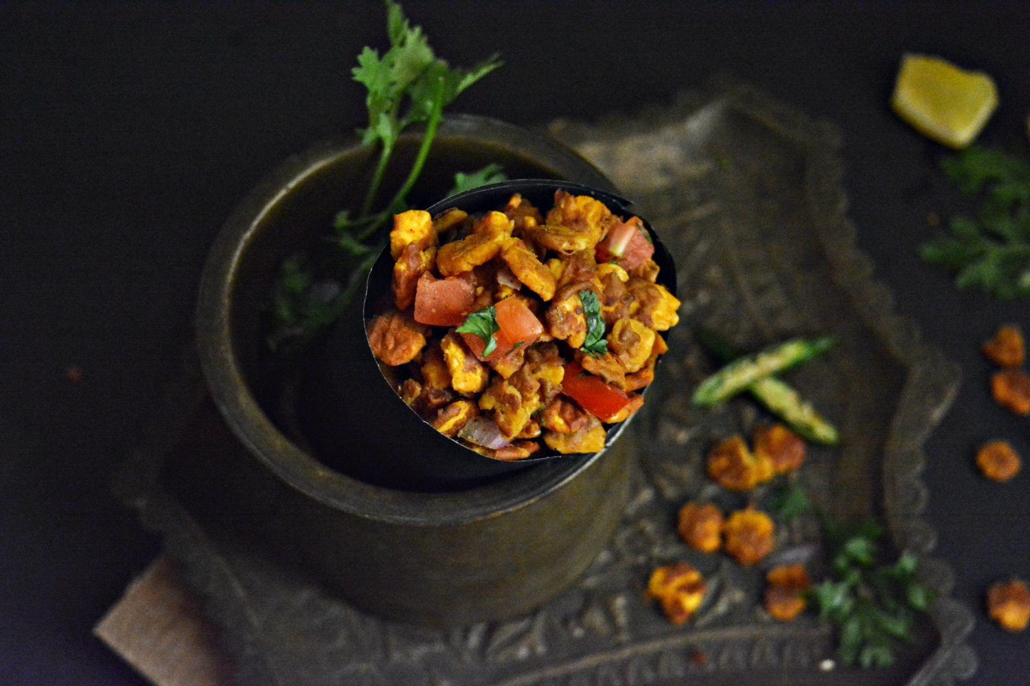 Chana Jor Garam Chaat Recipe