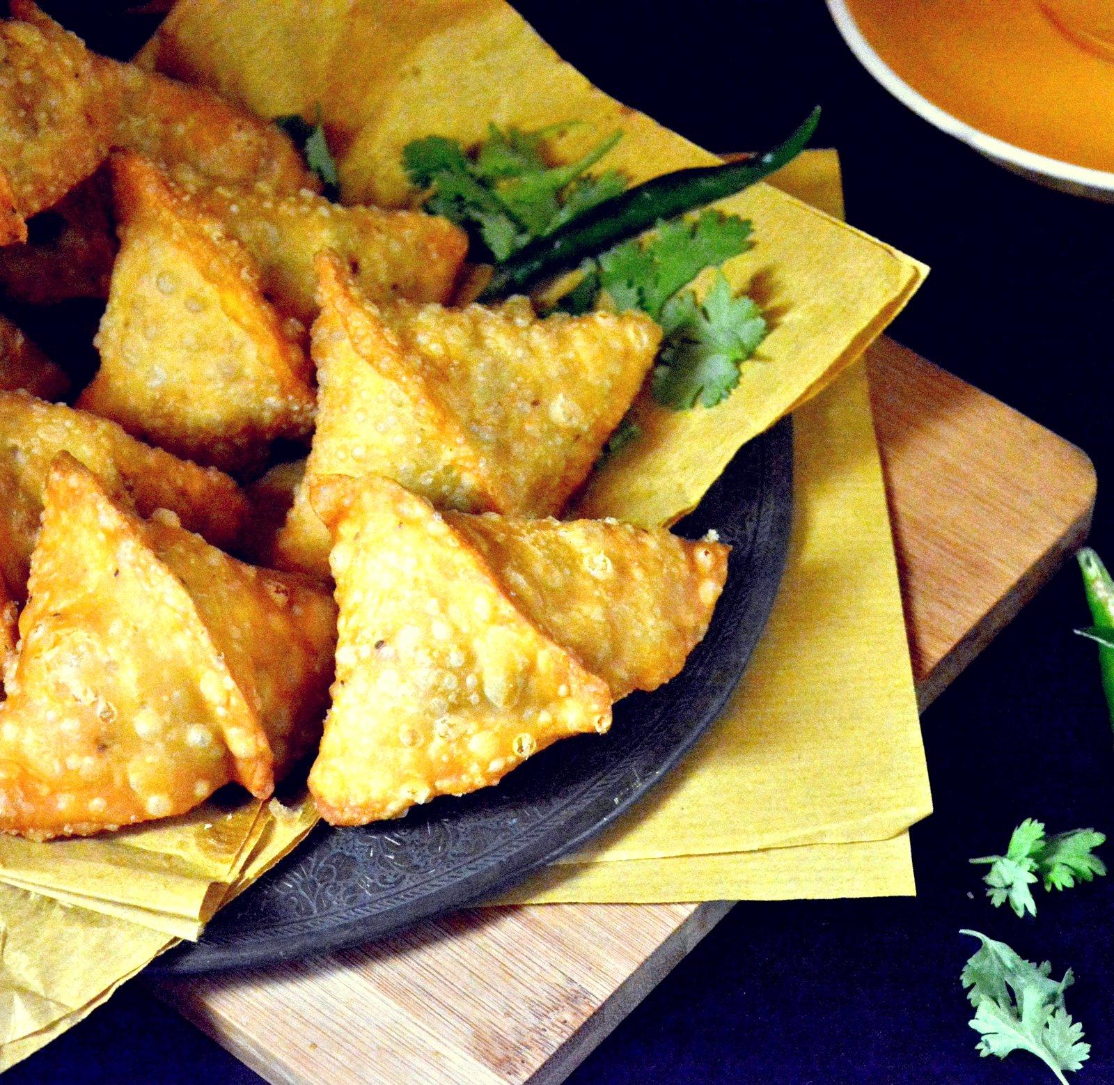 Mixed Vegetable Samosa Recipe by Archana's Kitchen