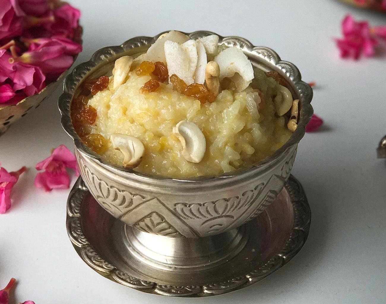 Chakkra pongali recipe andhra style sweet pongal by archanas kitchen chakkra pongali recipe andhra style sweet pongal forumfinder Choice Image