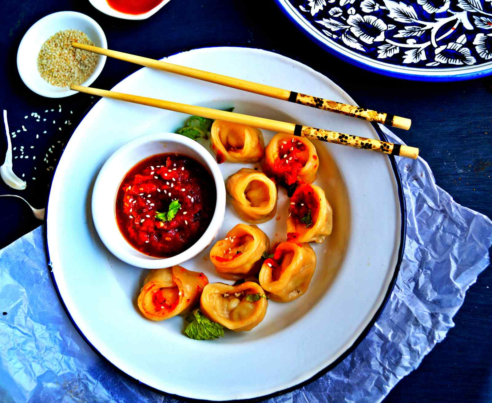 Chicken Dimsums Recipe - Steamed Chicken Dumplings
