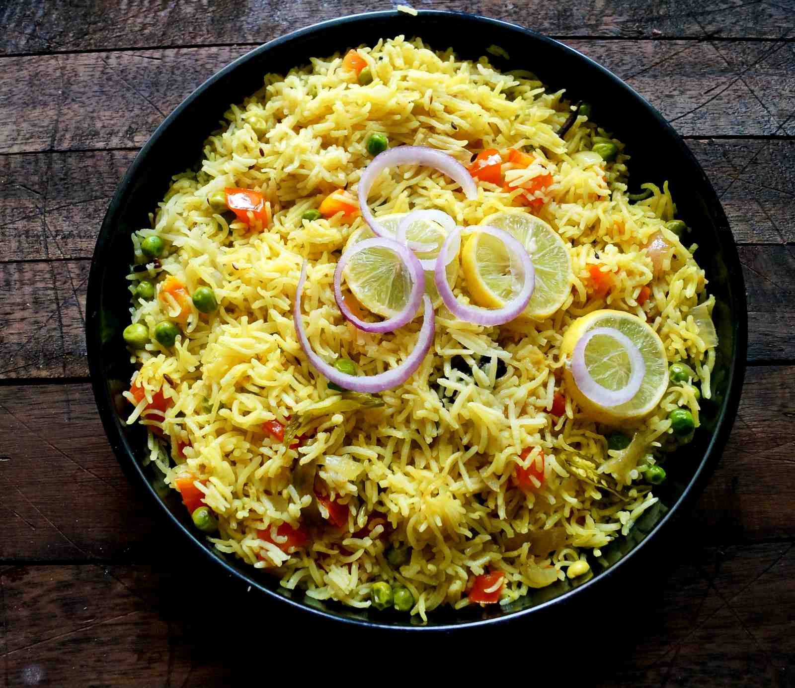Nepalese Vegetable Pulao Recipe by Archana's Kitchen