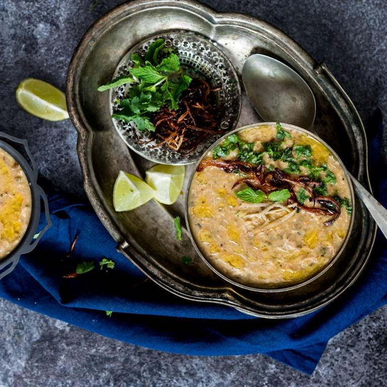 Mughlai style chicken haleem recipe by archanas kitchen mughlai style chicken haleem recipe forumfinder Choice Image