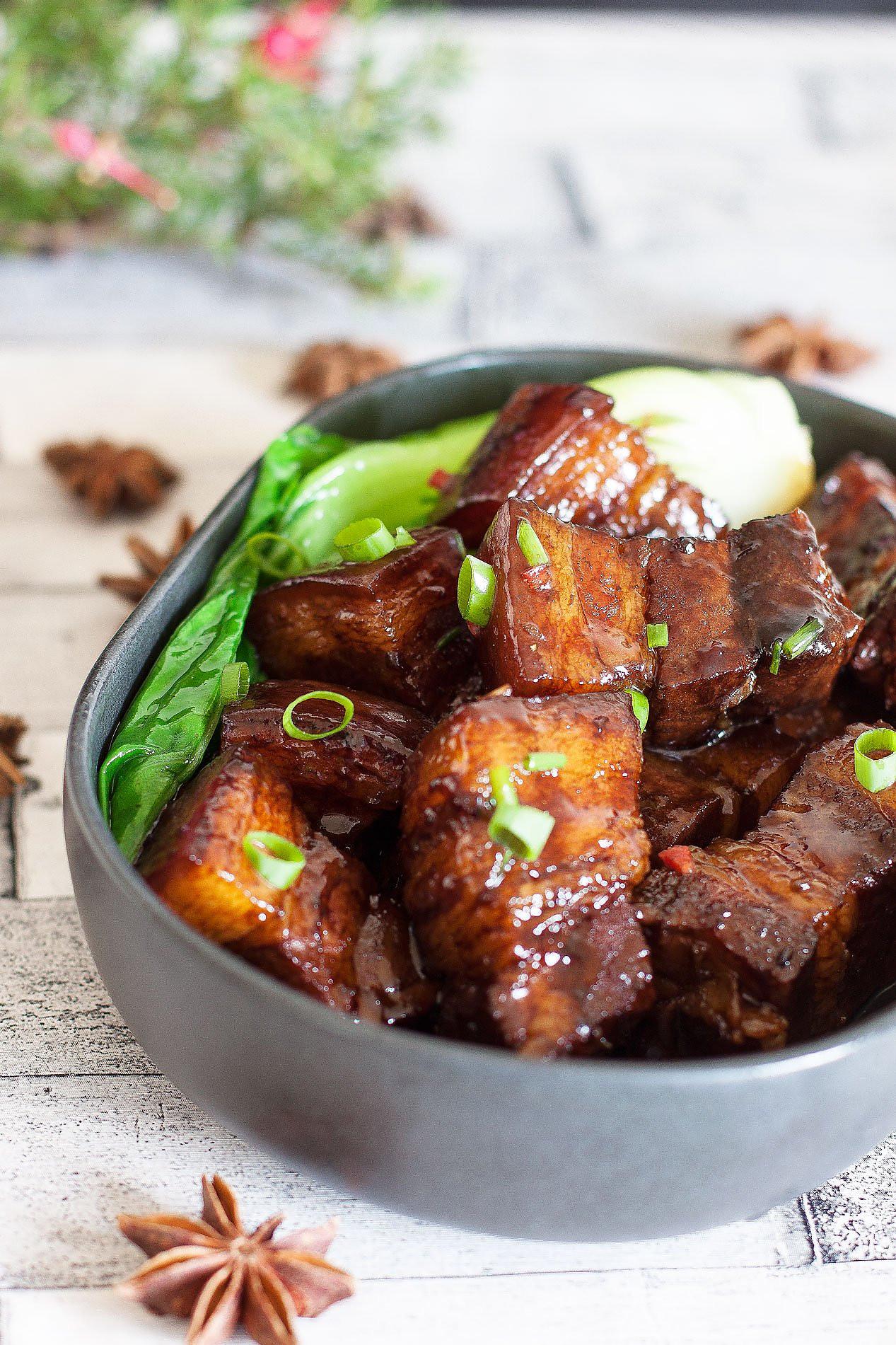 Braised Pork Belly Recipe By Archana S Kitchen