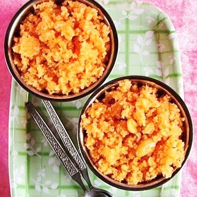 Thulli Recipe (Broken Wheat Halwa)