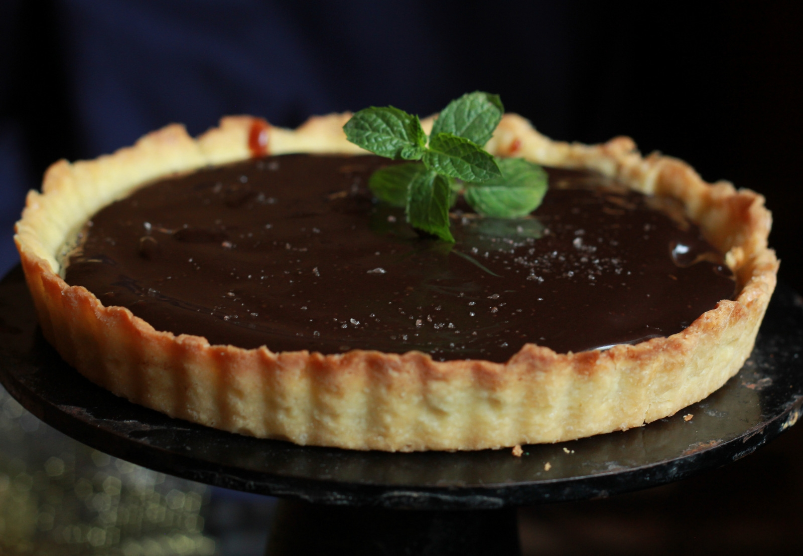 Chocolate Salted Caramel Tart Recipe
