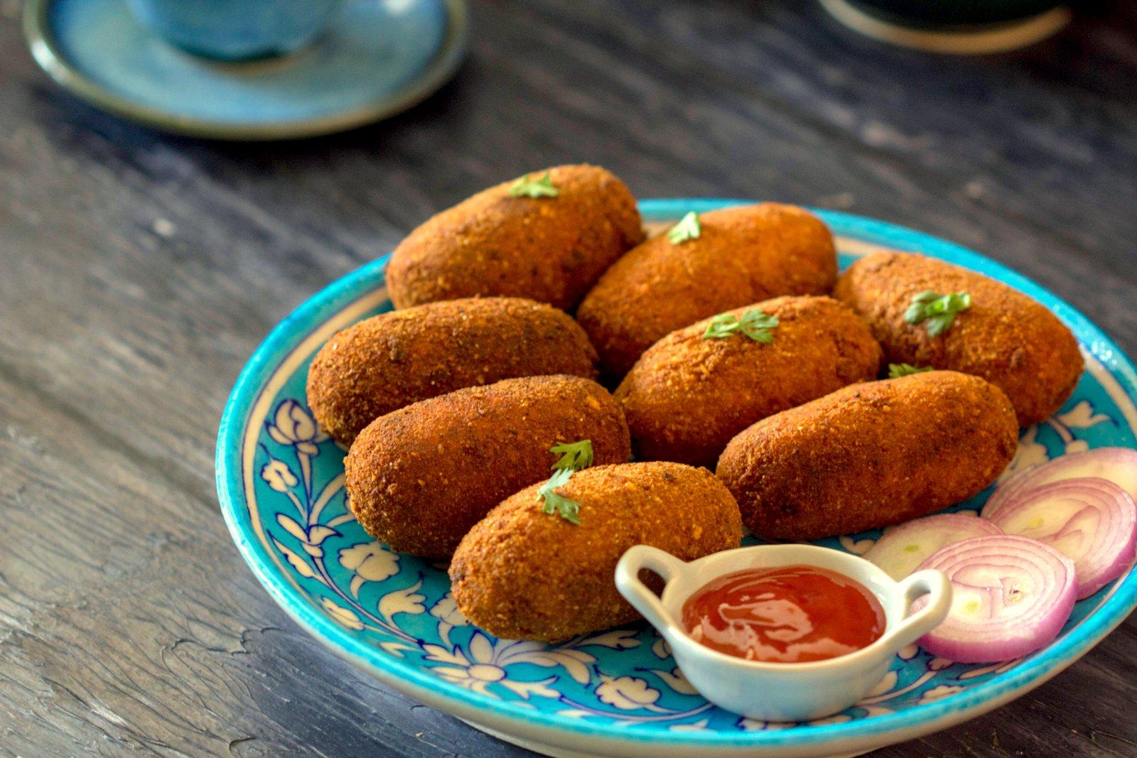 Croquettes Recipe With Bhetki Fish