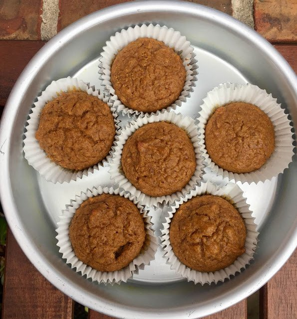 Pumpkin Cupcakes Recipe With Finger Millet And Flax Seed