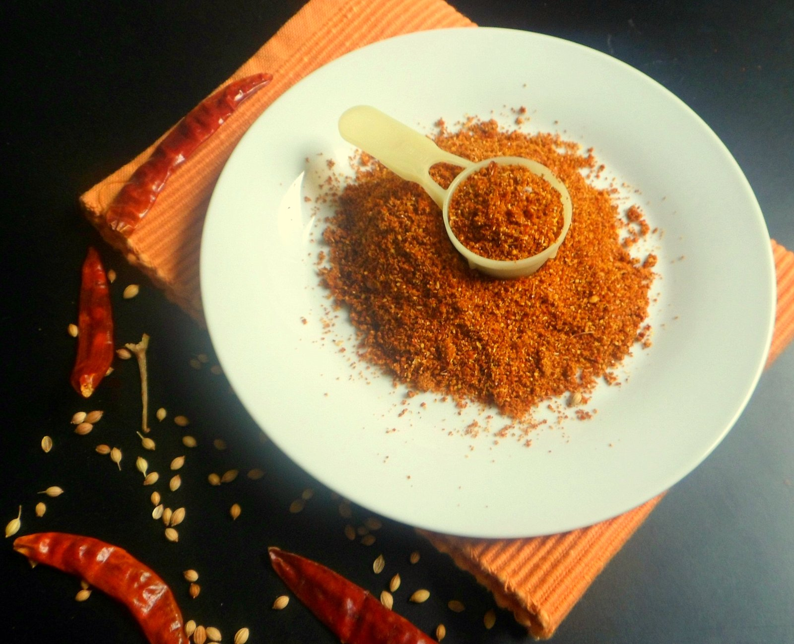 Indian Masala Curry Powder With Red Chillies Recipe