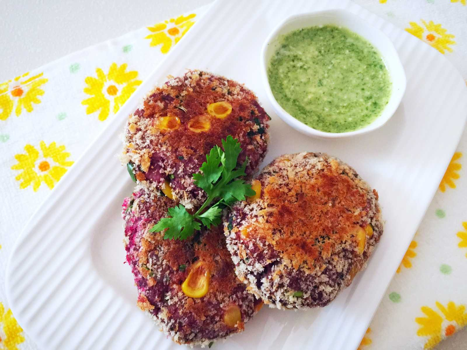 Beetroot, Sweet Potato And Oatmeal Cutlet Recipe